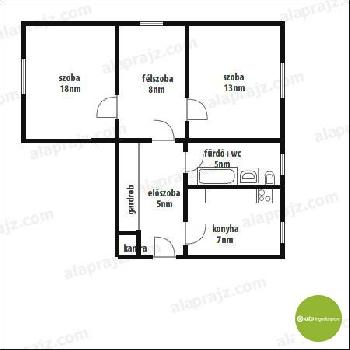 Apró Net/: Albérletbe kedvezményes áron kiadó egy pesterzsébeti (XX. kerület) lakás